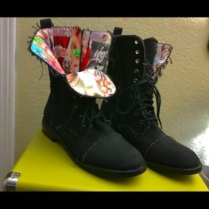 EUC! Steve Madden 4 The Cool People Coralyn Boots!